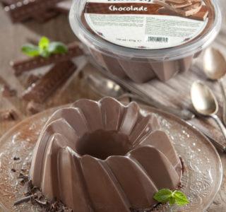 Tulband chocolade mousse