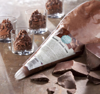 Chocolade Bavarois Spuitzak