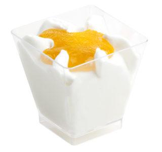 Mini glaasje Kokos-Mango mousse