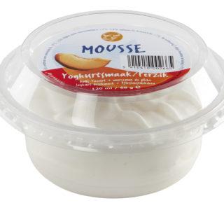 Cups Yoghurt-perzik mousse
