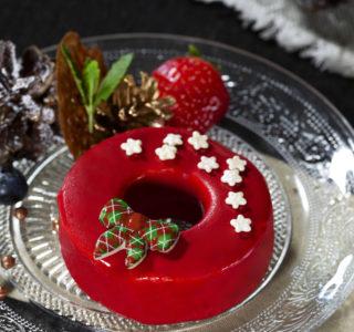 Kersttaartje Mousse Dessert