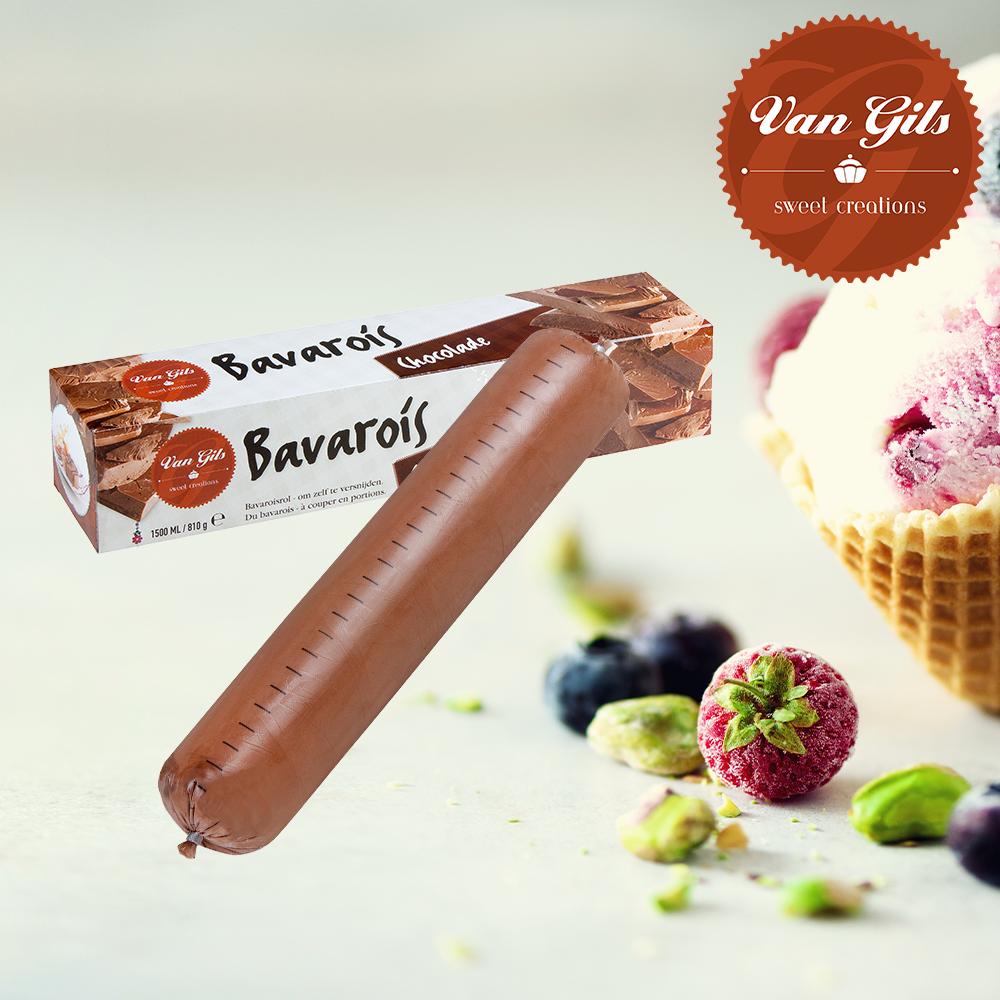 Chocolade Bavarois Rol