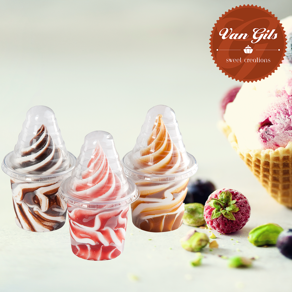 Soft Ice Cups Assorti