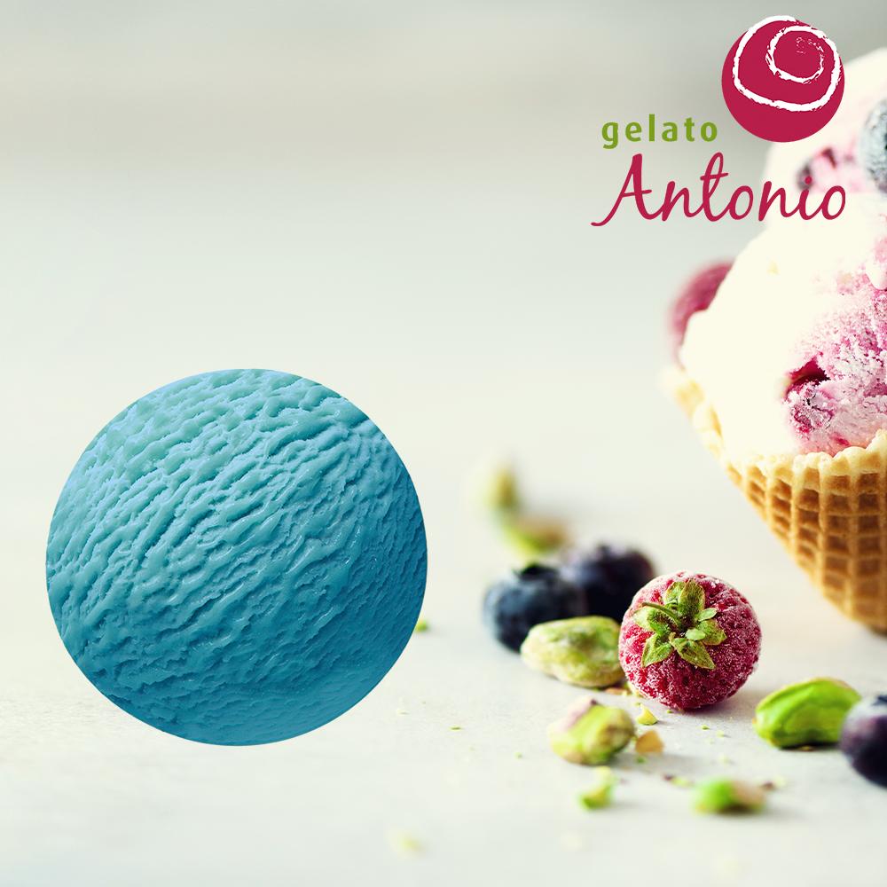 Azzurro Blauw Gelato Antonio